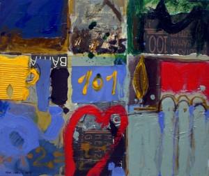 En la habitación 101 (60x70)