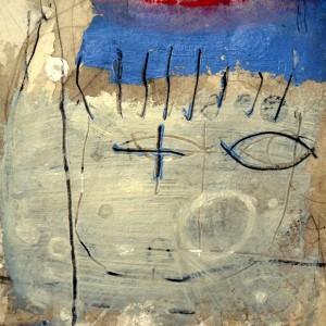 Retrato de Eulalia guiñando un ojo